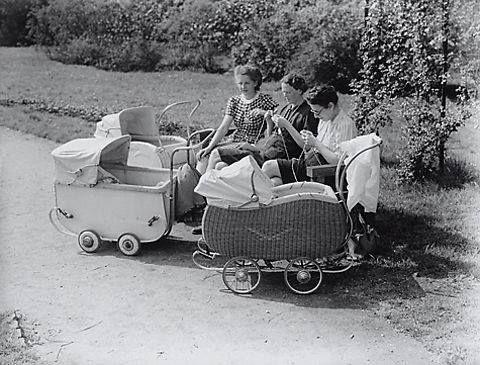 De kinderwagen uit de jaren '50-'60