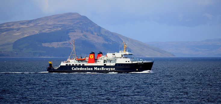 https://flic.kr/p/rvSBVs | MV ISLE OF ARRAN off Arran | MV ISLE OF ARRAN off Arran