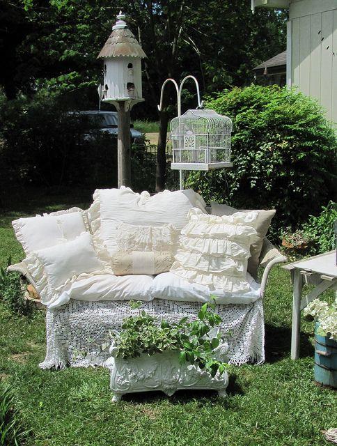 Garden Seating | Tin Rabbit - Flickr - Photo Sharing!