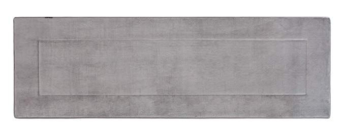 Fabbrica Home Ultra Soft High Density Memory Foam Runner 2ft X 6ft Gray Review With Images Memory Foam Foam Runner