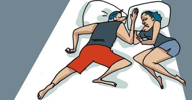 La posición de dormir revela que tipo de relación de pareja tienes