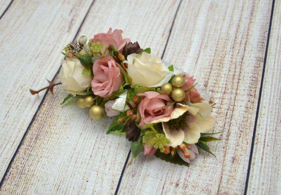 Hair comb Bridal hair accessories Wedding by OlgasCreativeStudio
