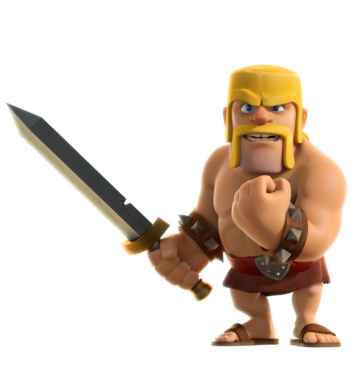 clash of clans barbarian - Google Search