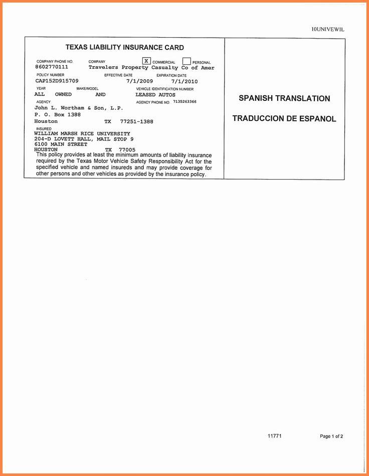 Auto insurance card template pdf beautiful auto insurance