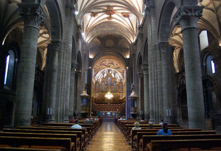 Interior de la Catedral de Jaca, Huesca, Camino Aragonés