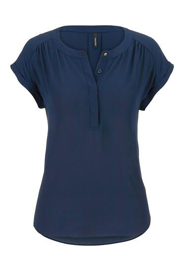 the short sleeve blouse (original price, $26) available at #Maurices