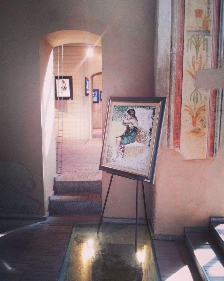 VIBRAZIONI INCONSCE. Mostra personale. Dal 22 al 30 aprile 2017. Sala del Bergognone, ex Monastero degli Olivetani, Nerviano