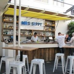 Mrs Sippy - A popular Friday night destination, Mrs Sippy serves up expertly mixed cocktails in an open air setting.