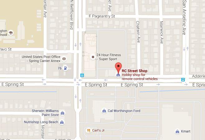 RC Street Shop in Long Beach
