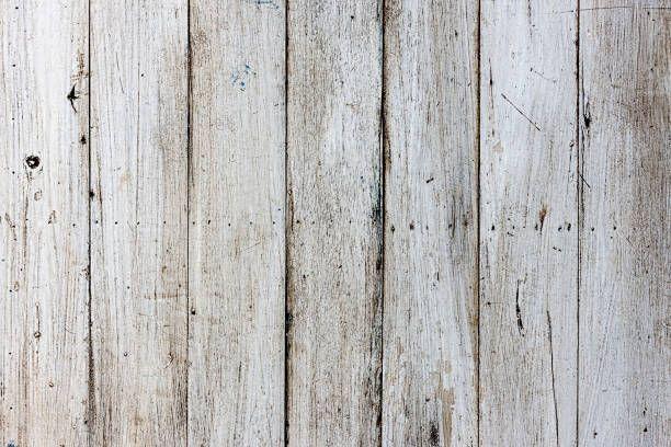 Alte Weisse Verwitterte Holzplatte Tabellenhintergrund Mit Vielen