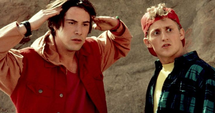 Get Ready for Bill & Ted 3 with the Excellent Dictionary Video -- Keanu Reeves and Alex Winter share the meaning behind a number of dude-isms in a throwback set video from the set of Bill & Ted's Bogus Journey. -- http://movieweb.com/bill-ted-excellent-dictionary-video/