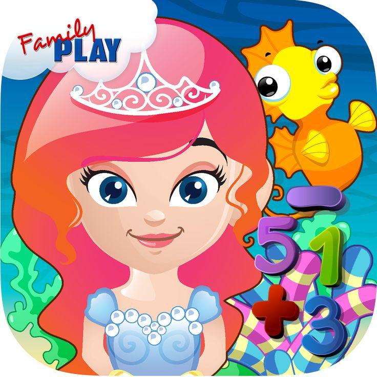 7 Best Mermaid Princess Preschool Adventure: Kids Numbers