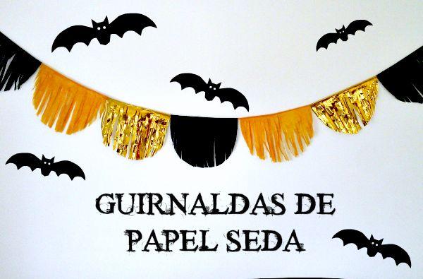 bloca: TUTORIALES HALLOWEEN: GUIRNALDAS EN 3 PASOS