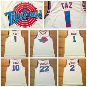 Space Jam Basketball Jersey Tune Squad LOONEY TOONES Basketball New Jerseys