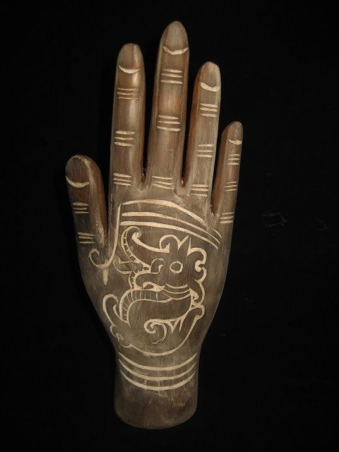 TP25# Tribal Body Art Tattoo Hand Piercing Ampallang Stud Dayak Borneo | eBay