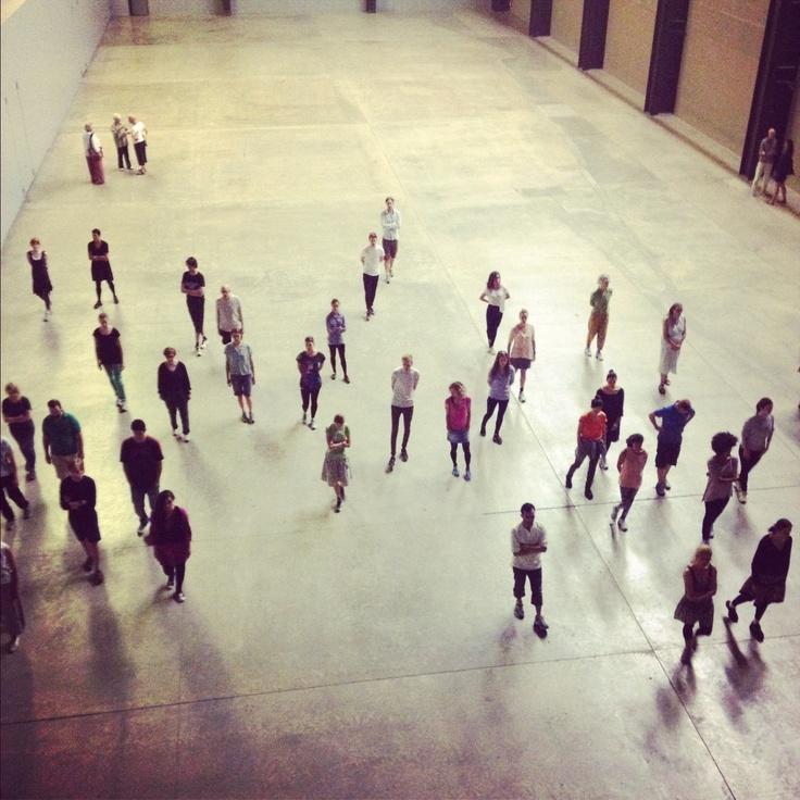 Tino Sehgal: These Associations, Tate Modern, London