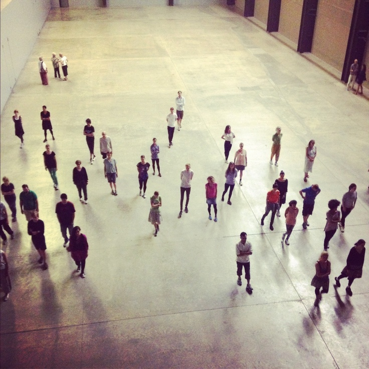 Tino Sehgal: These Associations, Tate Modern, London