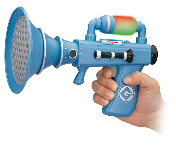 The Despicable Me Fart Blaster.  It's a best-seller and reviewers love it! (Many of them claiming that dad and kids giggle for hours.)  Hey, if a fart noise can add a few more laughs in this world… ~ SHE PICKS! 2014 - Or so she says...