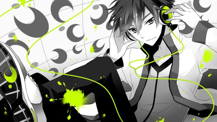 Anime guy headphones wallpaper hd widescreen 11 hd wallpapers cool