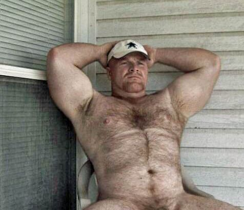 Stocky Men Nude