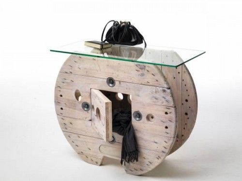 Sbobina Design: furniture from coils and industrial waste