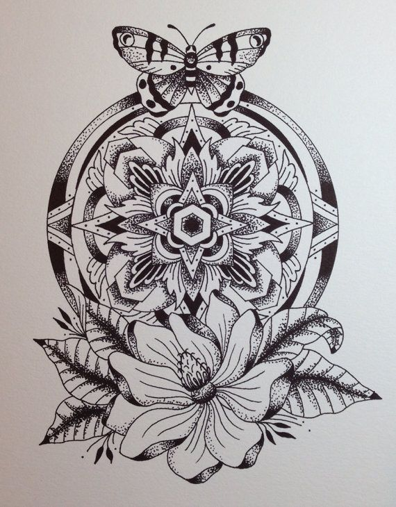 Inspiration for thigh piece? Not really into the butterfly, maybe a moth?