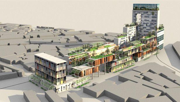 Architecture and Urban design. Designing a community housing area  http://qiao-liu.com/urbandesigngamashine.html (Fariah Choudhary, Priscilla Wood, 2014)