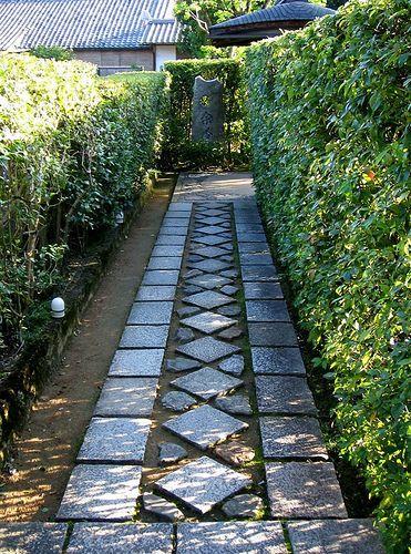 02 Taizo In Path.JPG By Lao_ren100, Via Flickr · Garden PathGarden  IdeasJapanese GardensStone PathLaosHedgesWalkwaysColoradoMountain