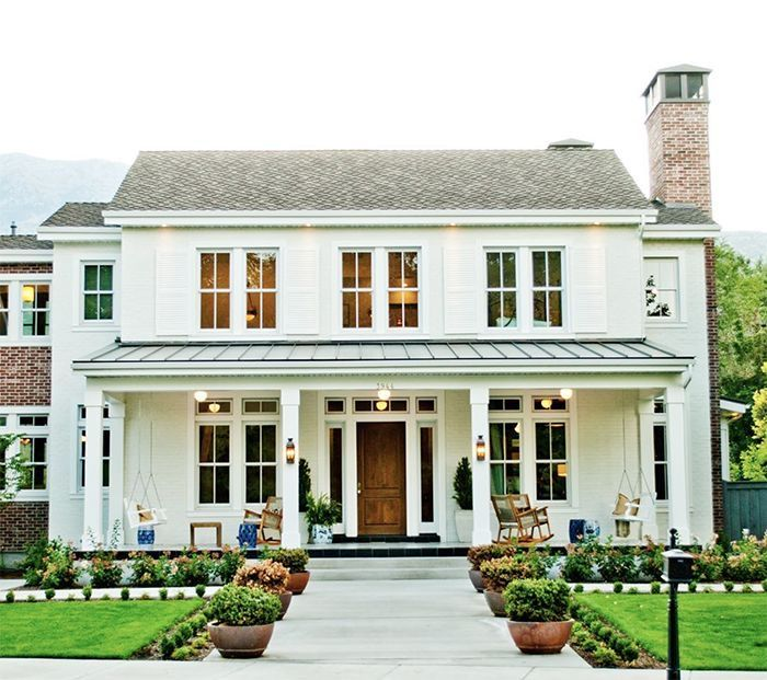 Pin By Amber Harris On Home In 2020 Colonial House Exteriors Colonial House Plans Colonial Exterior