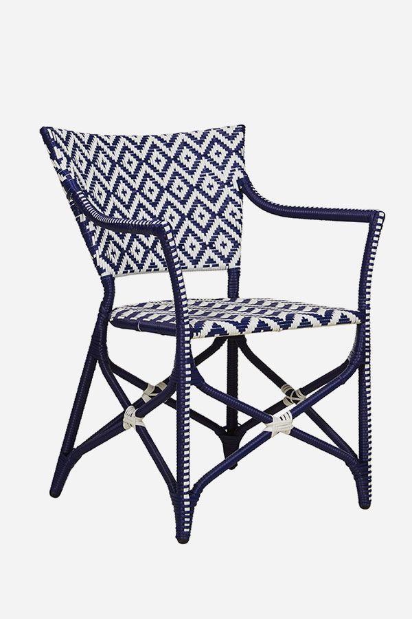 Ibiza Deck Chair - Dark Blue
