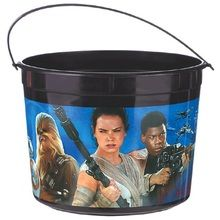 Star Wars Plastic Favor Bucket Container ( 1pc )