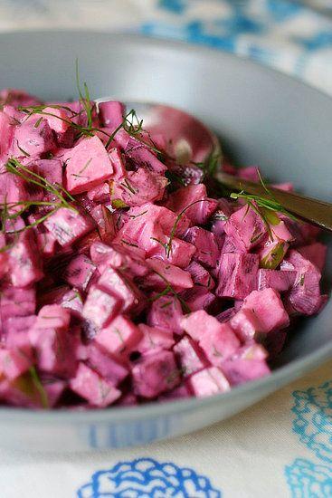 Salade de Betteraves Scandinave