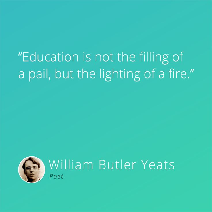 What is your fire, your passion? Follow that road. #inspiration #education