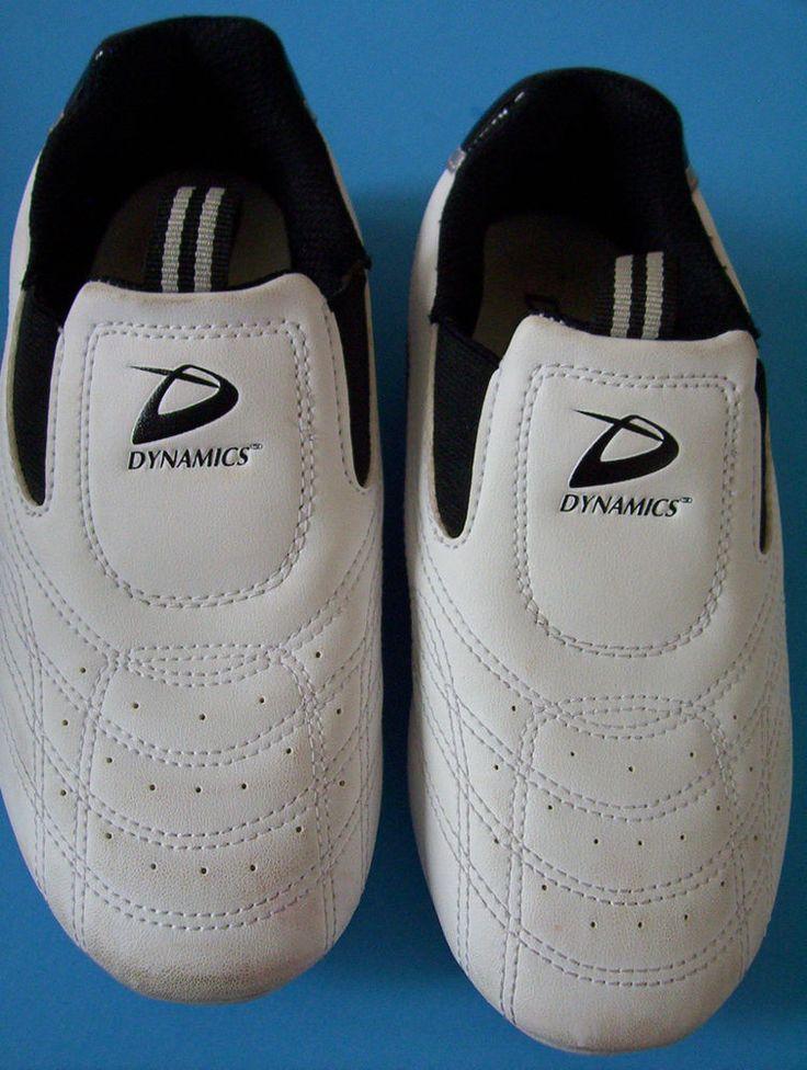Beadshine Dynamics Syn Star Martial Arts TaeKwondo Training White Sneaker Size 2 #DynamicsWorld