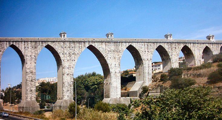 Aqueduto das Águas Livres im Portugal Reiseführer http://www.abenteurer.net/2731-portugal-reisefuehrer/