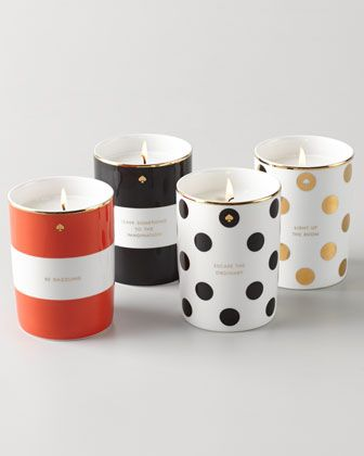 Porcelain Candle by kate spade new york at Neiman Marcus. $40
