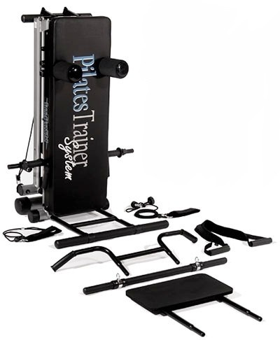 Bayou Fitness Total Trainer Pilates Sys Reformer Home Gym System