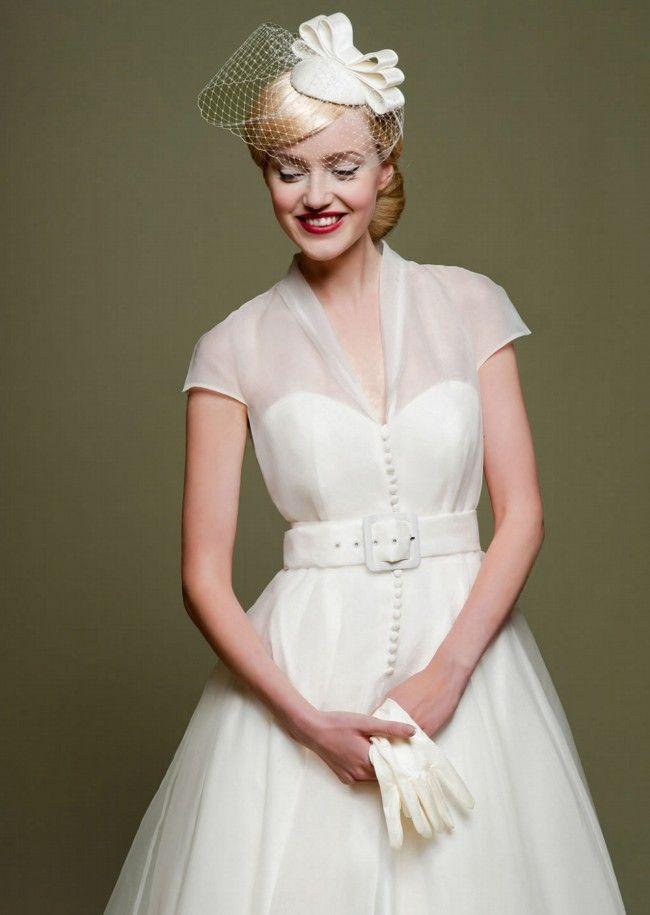 Lou Lou Bridal - New, LB47 Cicely Organza Size 10 Wedding Dress For Sale | Still White Australia