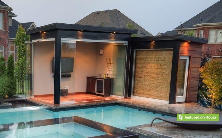 Modern Pool Bar