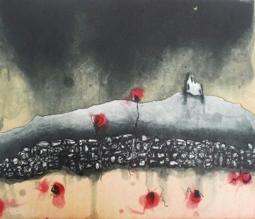 Niamh Flanagan: The soil remembers, etching, spitbite,  €275