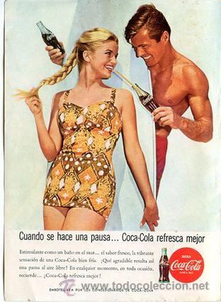 Página Publicidad Original *COCA-COLA*. Año 1963