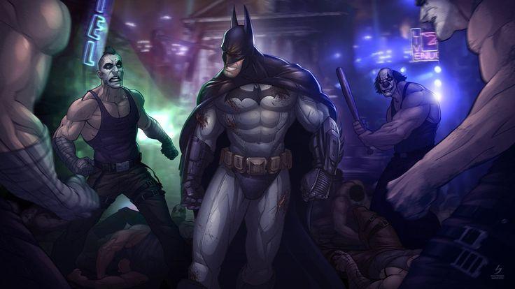 Batman - Arkham City by Patrick Brown