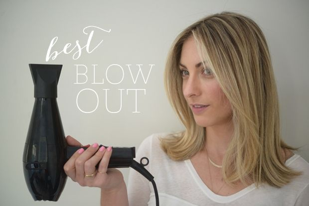 Mastering the Blow Out - Cupcakes and Cashmere