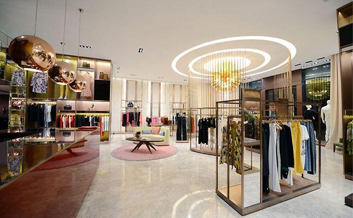 Upscale clothing store