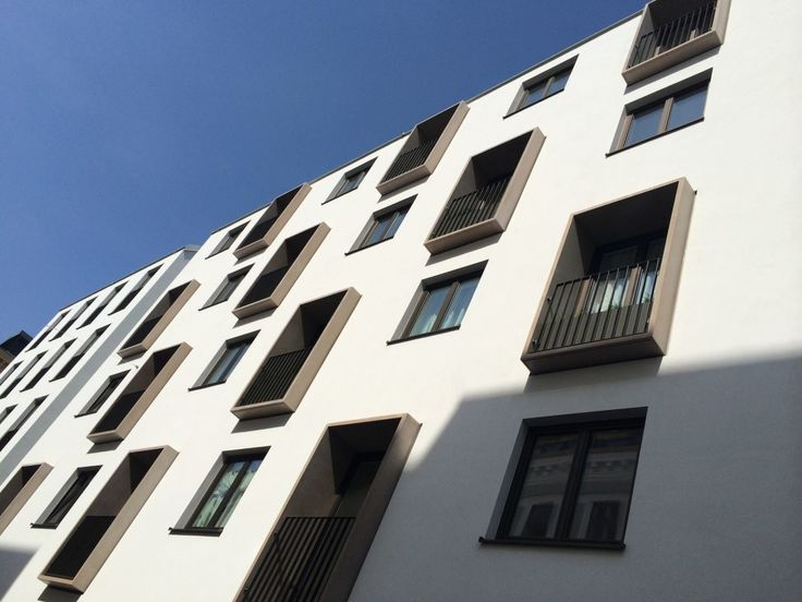 IVANKA for OPW Vienna – monolith window frames for French balconies.