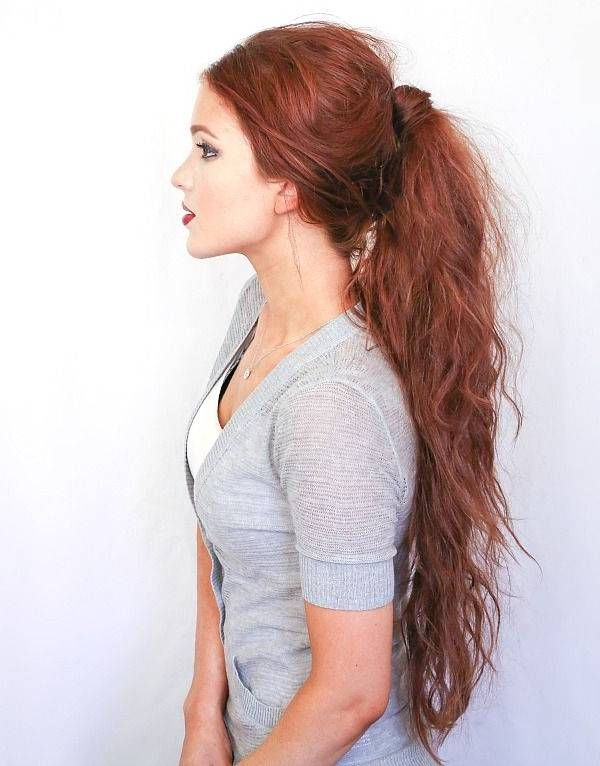 Stupendous 1000 Images About Ponytail Hairstyles On Pinterest Perfect Short Hairstyles Gunalazisus