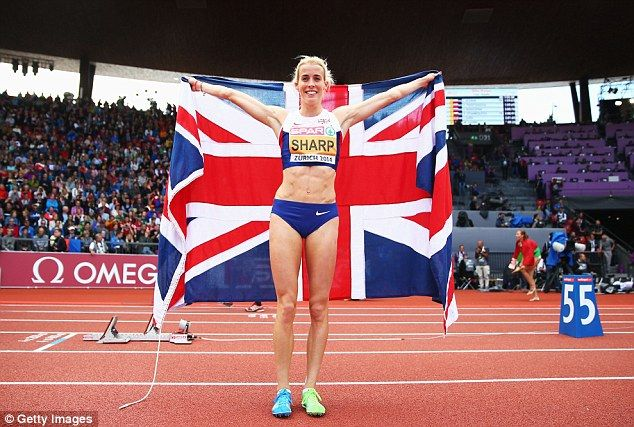Lynsey Sharp wins a silver medal in the 800 metres at the 2014 European Championships