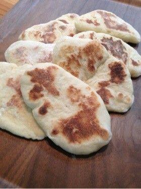 ナンはもぅ買いません☻もちもち手作りナン by Jyaico [クックパッド] 簡単おいしいみんなのレシピが215万品