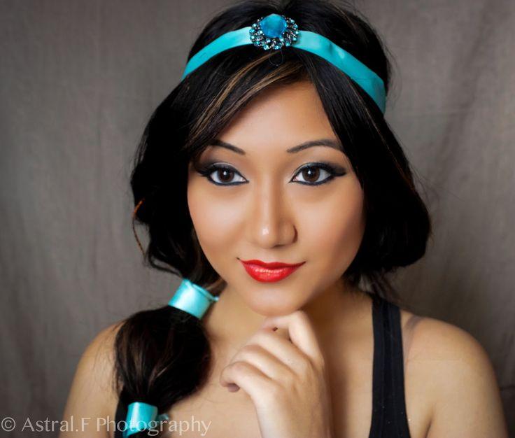 MakeupManiac Halloween Princess Jasmine Makeup And Hair