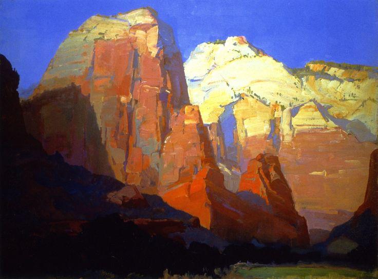 The Athenaeum - Pinnacle Rock, Utah (Franz Bischoff - )